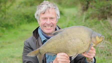 John Bailey with a double figure bream all of his own. Picture: John Bailey