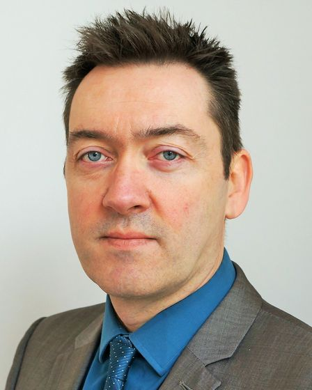 Executive director of adult social services at Norfolk County Council James Bullion. Picture Norfolk