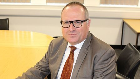 Matt Dunkley, interim director of children's services at Norfolk County Council. Pic: Norfolk County