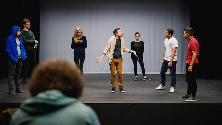 The Garage, in Norwich, is planning to run a GCSE drama course from January 2018. Photo: supplied b