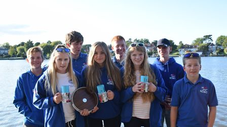 Horning SC - winners of the Broadland Youth Regatta. Picture: Holly Hancock