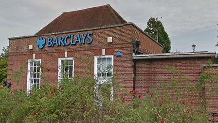 Barclays in Loddon, which is due to close down in December. Picture: Google Maps