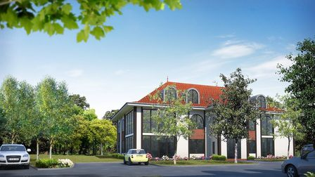 This is what the Sheringham apartments might look like. Picture: Sutherland Homes