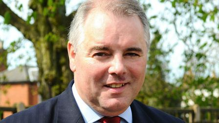 South Norfolk MP Richard Bacon is backing the bid. Picture: Sonya Duncan