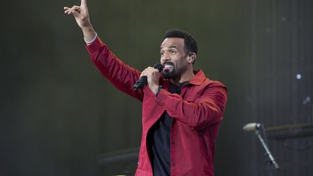 Craig David headlined Sundown fresh from his gig at V Fest last weekend (Picture: ISABEL INFANTES/PA