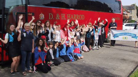 The Swaffham Lions group visited the circus in Yarmouth. Photo: Swaffham Lions