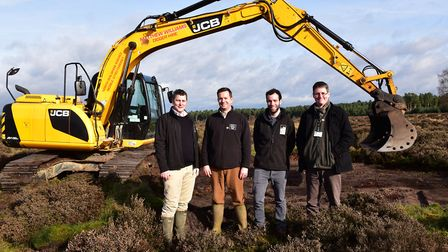 Breaking New Ground and Norfolk Wildlife Trust along with Norfolk County Council are working on a gr