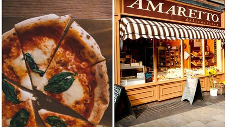 Two Norwich businesses have made the final of the English Italian Awards. (L-R) Brick Pizza is up fo
