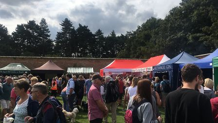 Scenes from the North Norfolk Food and Drink Festival at Holkham. Picture: ADAM LAZZARI
