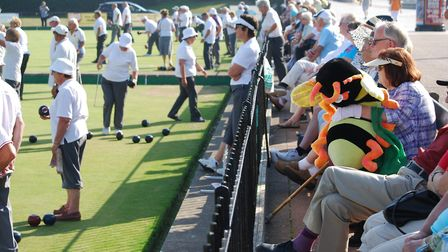 Great Yarmouth Festival of Bowls. Photo: Brian Grint