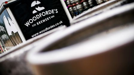 Woodforde'�s has rebranded with Admiral Lord Nelson at the helm. Picture: Courtesy Woodforde's