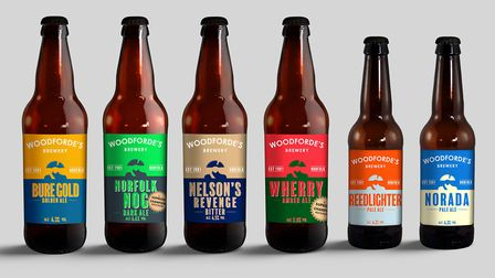 Woodforde's has rebranded with Admiral Lord Nelson at the helm. Picture: Courtesy Woodforde's