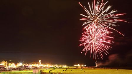 Great Yarmouth summer fireworks in previous years. Photo: Archant Library