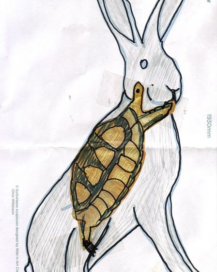 GoGoHare competition entry: Wendy Jones, aged 56 from Norwich.