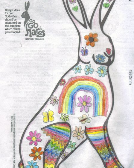 GoGoHare competition entry: Rose Ottaway, aged 11 from Salhouse.