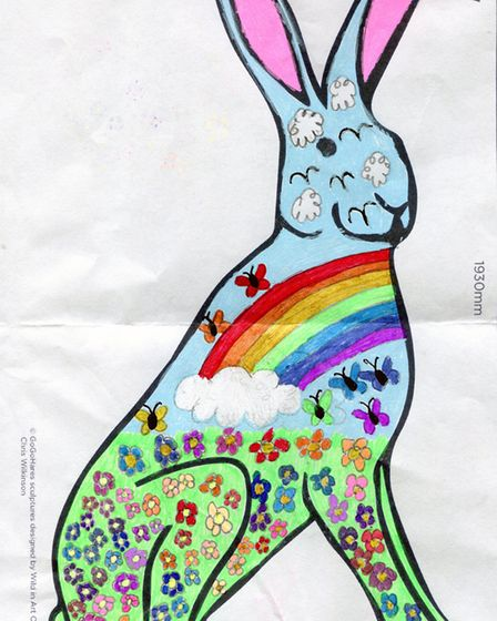 GoGoHare competition entry: Rosie Latchford, aged 10 from Middlesbrough.