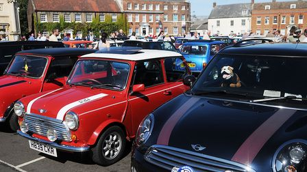 The Mini meet in King's Lynn. Picture: Chris Bishop