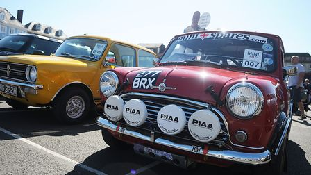 There were Minis old and new. Picture: Chris Bishop