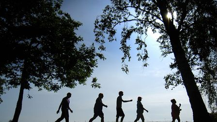 Walking: Surely everyone can manage ten minutes' brisk walking once a month? Apparently not...