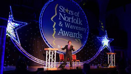 EDP Stars of Norfolk and Waveney Awards 2015 at St Andrews Hall, Norwich. PHOTO BY SIMON FINLAY