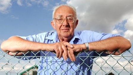 Pat Gowen pictured in 2004 aged 72. Photo: Nick Butcher