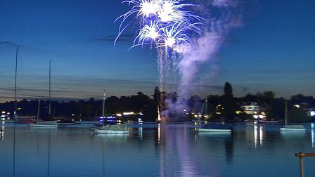 The Kimbolton firework display will illuminate the broads at the Lowestoft Lions charity Gala Day on