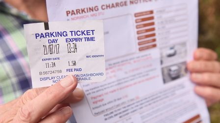 Tim and Kath Powell received parking fines at Bowthorpe Community Hospital even though they had corr