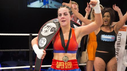 Norfolk boxing talent Stevi-Ann Levy will defend her 61kg title at Contenders 20. Pictures: Egle Myk