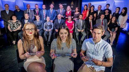 Scenes from the Norfolk Sports Awards 2016 held at Open in Norwich - All the nights winners. Picture