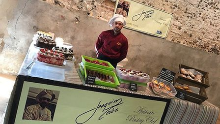 Joaquim Teles who is hoping to open his own pastry shop in Norwich. Photo supplied by Ana Teles.