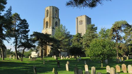 Wymondham Abbey from the south-east. Picture: Courtesy Wymondham Abbey