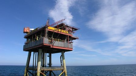 Centrica's Audrey platform in the southern North Sea off the coast of Norfolk is due to be decommiss