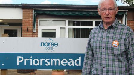Thetford councillor Mike Brindle has started a petition to secure the future of the Priorsmead care