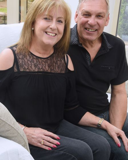 Patsy and David Blyth of Drayton, whose son Nathan, living in Australia, has just received a kidney