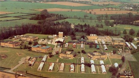 A picture of Wymondham College taken in 1991.