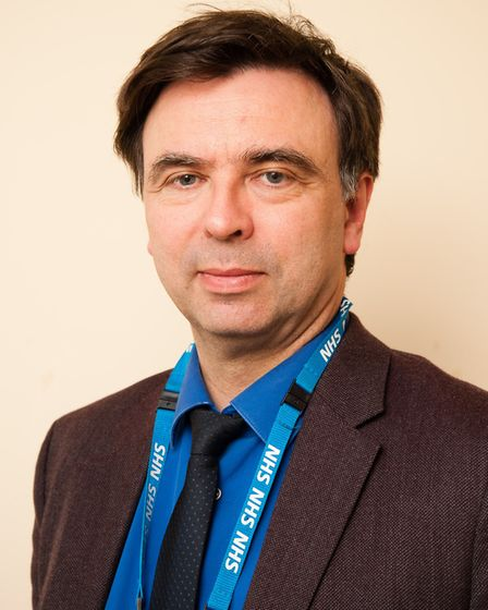 Dr Bohdan Solomka, medical director at the Norfolk and Suffolk NHS Foundation Trust (NSFT). Photo co