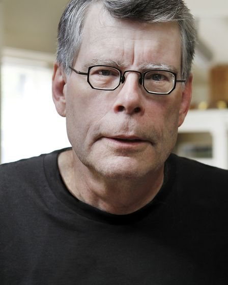 Horror master Stephen King who has seen many of his 54 novels and numerous short stories turned into