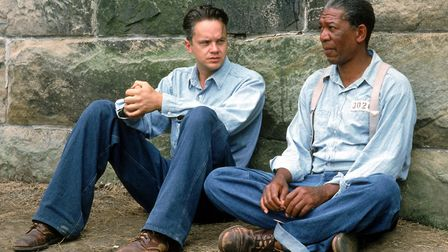 The Shawshank Redemption starring Tim Robbins and Morgan Freeman. Photo: Columbia Pictures