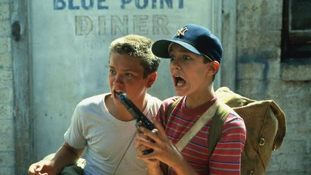 River Phoenix and Wil Wheaton in Rob Reiner's film of Stand By Me. Photo: Columbia Pictures
