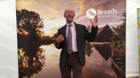 Broads Authority Chief Executive John Packman at the launch of the Broads Plan 2017. Picture: Andrew