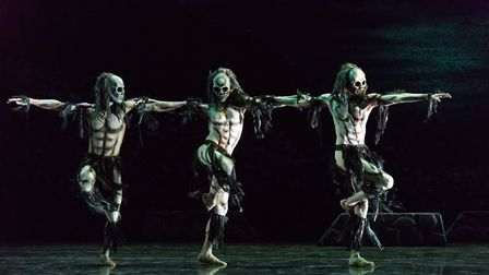Rambert will present Christopher Bruce's iconic Ghost Dances as part of their latest tour. Photo: Ja