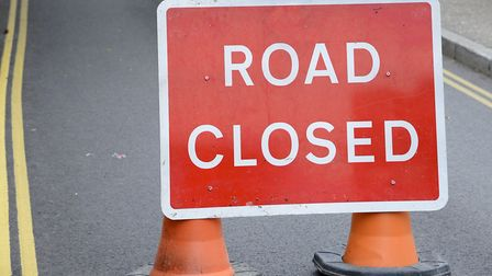 A road will be shut for eight weeks for work to stop flooding. Picture: MARK BULLIMORE