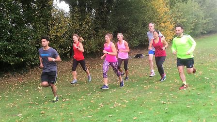 Action from Neil Featherby's Thursday running group. Picture: Neil Featherby