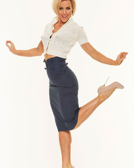 Strictly professional dancer Natalie Lowe. Photo: Submitted