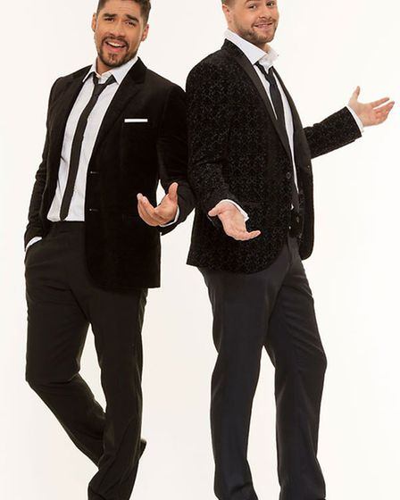 Louis Smith and Jay McGuiness are both previous winners of Strictly. Photo: Submitted