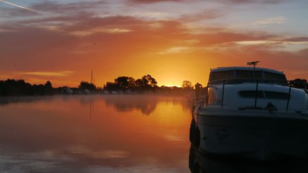 Sunrise at Acle on the Norfolk Broads