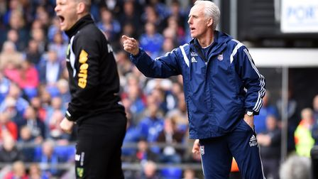Mick McCarthy and Alex Neil were the respecrive managers when Ipswich Town and Norwich Ciy faced off