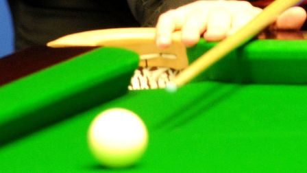 Leaders Spireites A defeated Broadland A 5-4 in the First Division of the Open Snooker League. Pictu