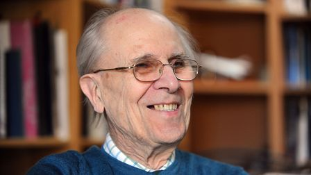Lord Tebbit at his home in Bury St Edmunds. Picture: Phil Morley.