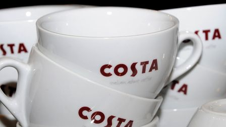 Like-for-like sales growth at Costa Coffee has slowed to 0.6%. Picture: PA/PA Wire